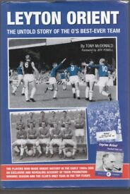 Leyton orient Football Club 2x books