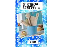 Baking star set blue