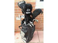 Hippo plus oversize set of clubs and bag! Overal in good condition!Can deliver or post!