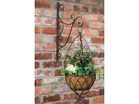 Shabby chic hanging basket Laura Ashley BN