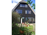 large self contained Studio , in Grade 2 listed Conversion in Toft, beautiful wild garden