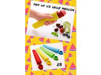 Pop up ice lolly moulds