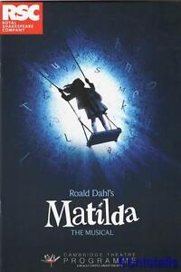MATILDA - RSC 2013 - CAMBRIDGE THEATRE - ANNETTE McLAUGHLIN - MELANIE LA BARRIE