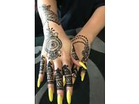 Henna/mehndi (only for ladies )