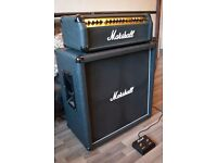 MARSHALL 8100 VALVESTATE 100V AND 4x12 CAB (AND FOOTSWITCH!)