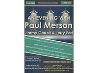 Paul Merson comes to Bedworth for a night of entertainment.