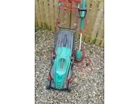 Lawnmower and strimmer
