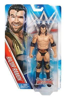 RAZOR RAMON WRESTLEMANIA 32 WWE MATTEL BASIC ACTION FIGURE TOY BRAND NEW - MINT
