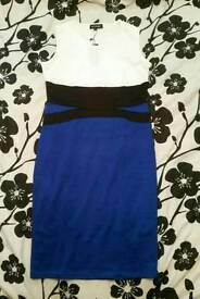 Blue Pencil Dress