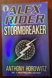 Alex Rider Stormbreaker Book