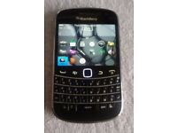 BlackBerry Bold 9900 - 8GB - Black Orange EE Smartphone