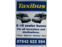 Minibus 16 seater mini buses and driver for hire