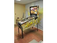 The Simpsons Pinball Party by Stern Pinball inc. Machine Table, Excellent Condition