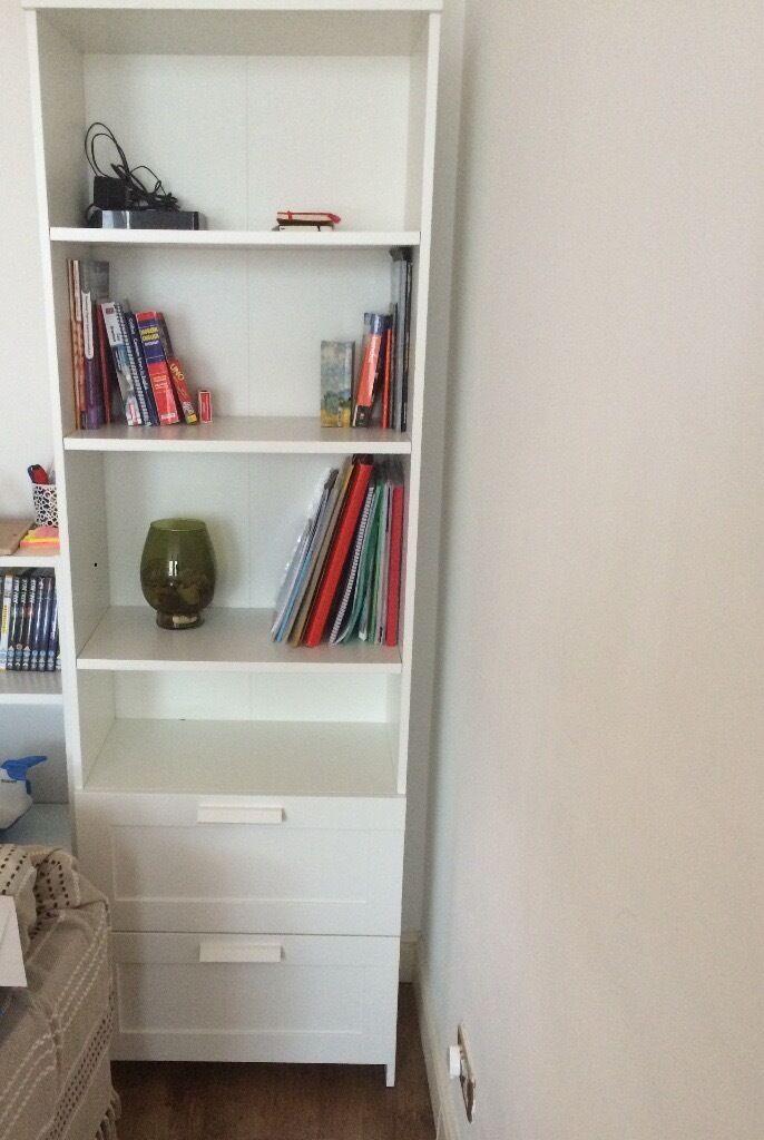 Bookcase BRIMNES (IKEA) white Like new in Ealing Broadway, London Gumtree