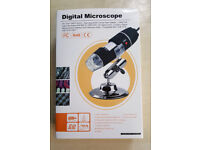 USB Digital 50-500X 5MP Microscope