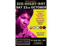SATURDAY 22nd OCTOBER - 60s 70s SOUL / REGGAE / MOTOWN / SKA with DOUBLE BARREL - City Centre.
