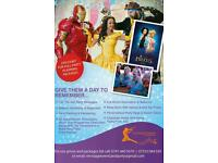 CHILDRENS THEMED PARTIES AND DISCOS