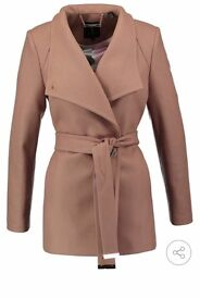 Cream ted baker coat size 12