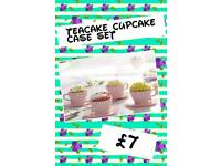 Teacake Cupcake Case set