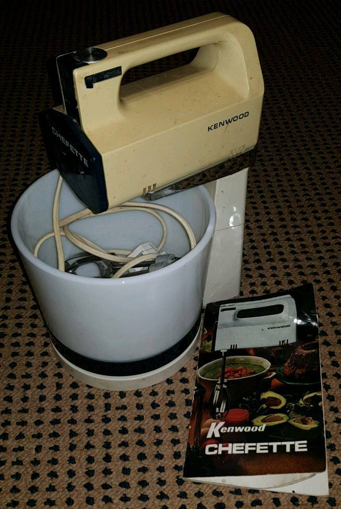 Free Kenwood Chefette food mixer