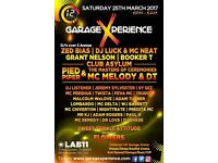 2 x 12 hour Garage Rave experience tickets