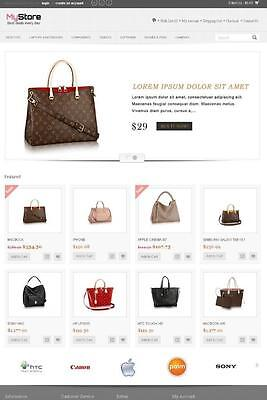 Online Shop  Store Shopping Cart Ecommerce Complete Website With Hosting
