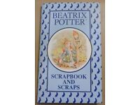 1993 Beatrix Potter Scrapbook and 12 Packs of Scraps