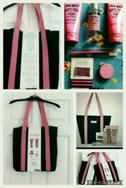Brand New Jack Wills Overnight Tote / Shopper / Canvas / Bag - perfect for Xmas