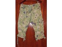 Timezone 3/4 capri pants (size 27)