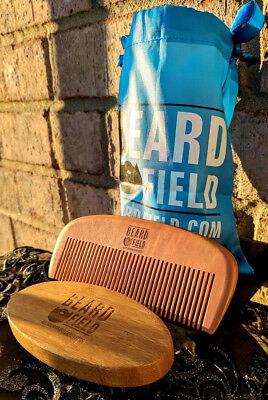 BeardField | Best Beard Brush & Beard Comb Kit for Men Beard / Mustache
