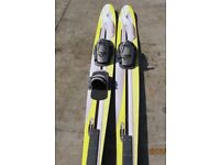 WATERSKIS COMBO PAIR. USE AS A SINGLE, OR A PAIR.