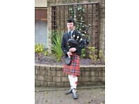Scott Findlay - Experienced Bagpiper for Hire