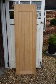 Geneva Internal Cottage Oak Door 5 Panel