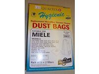Miele FJM Vacuum Cleaner Bags, Pack of 5+ Filters