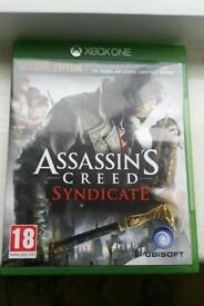 Assassin's Creed syndicate xbox one game