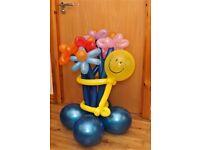 Selling balloon figures