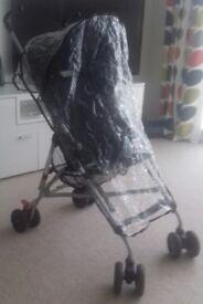 Stroller + rain cover