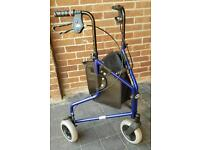 Tri Wheel Mobility Walker. Bargain price £50 off