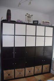Shelving Unit/Storage Unit from IKEA. Versatile, plenty of storage, easy to assemble