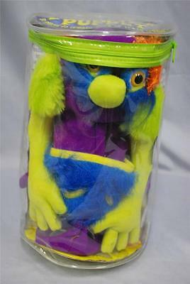 MELISSA & DOUG Make Your Own MONSTER PUPPET Plush in Carry Case VGC (Make Your Own Puppet)
