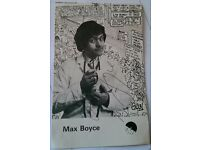 "Max Boyce Signed Gren Postcard ""Live at Treorchy"" - FREE P & P"