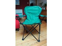 Two Fold up chairs for camping, concerts, etc excellent condition