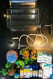 Complete aquarium starter kit