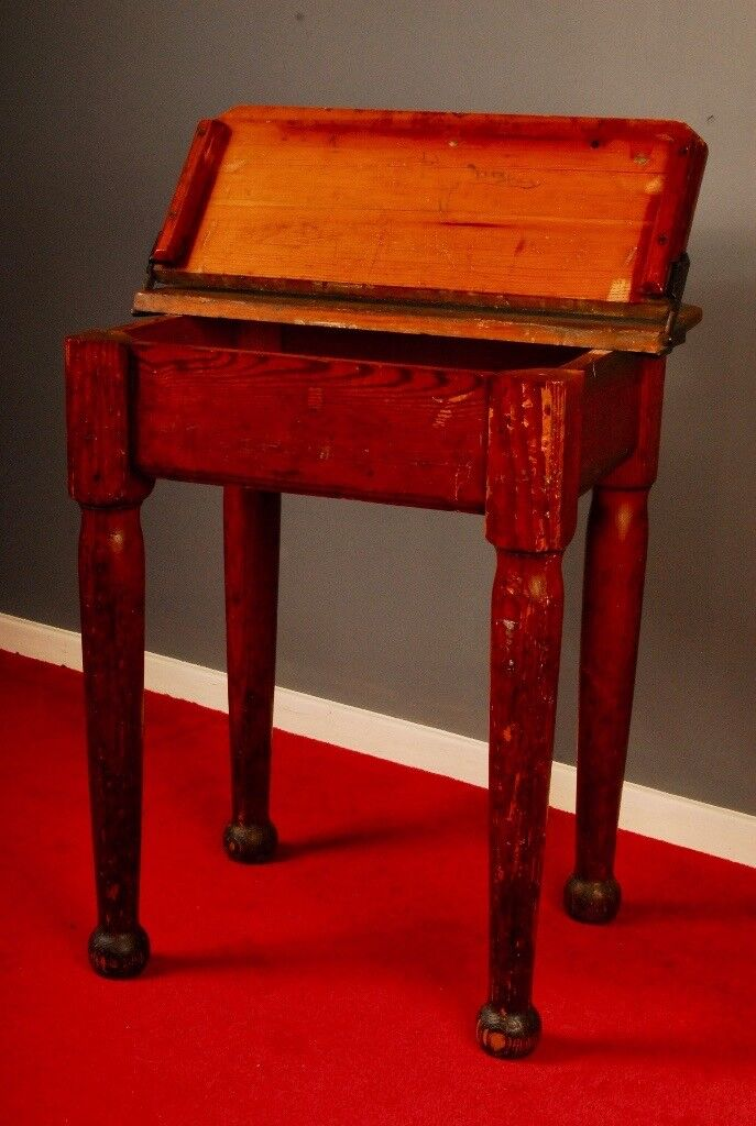 Antique early Victorian Desk.