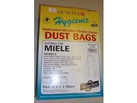 Miele FJM Vacuum Cleaner Bags, Pack of 5+ Filters.