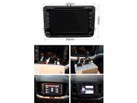 Volkswagen SAT NAV DVD Bluetooth Phone GPS Navigation VW RNS510 style passat gold skoda seat