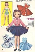 Vintage McCalls Doll Pattern