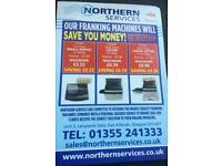Franking machine repairs and sales & accessories
