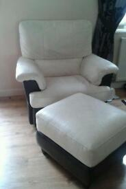 Electric arm chair and pufa otaman