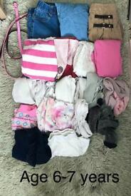 Age 6/7 years girls bundle